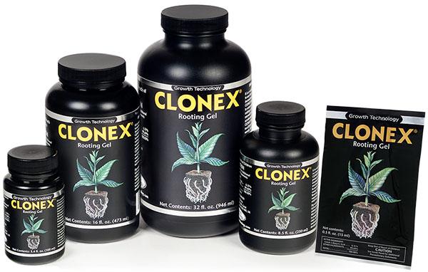 Clonex Rooting Gel is EPA Registered