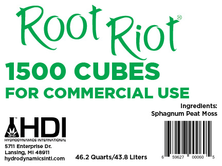 Root Riot 1500 Count Bulk Box | Hydrodynamics International