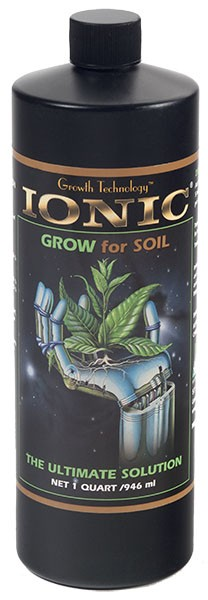 Ionic Grow for Soil
